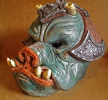GAMORREAN MASK by lionback