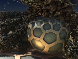 Covered Sphere by batjorge
