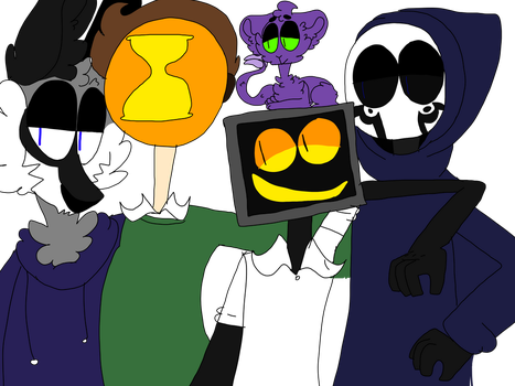 THE RANTER FAMILY by CLOWN-TOES
