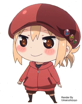 Himouto Umaru Chan - UMR [render] by Candy-Witch
