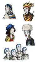 Cirque Du Soleil Characters by Expression
