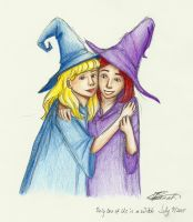 Only One of Us is a Witch by charmontez