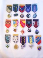 Pony Military Medals Set 3 by Thebubbleqat