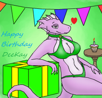 Happy Birthday Deekay by XizzDot