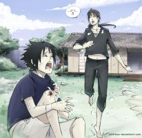 Uchiha brothers sweet X3 by Kibbitzer