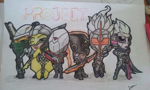 Project skins (chibi) by LauraChisbert
