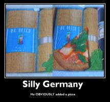 Silly Germany by RussiaAddict