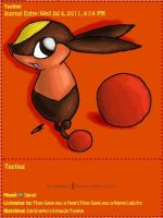 Tepig Journal Skin by AbyssinChaos