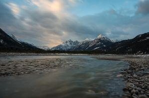 Morning in the Lech valley by acoresjo88