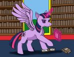 Twilight Sparkle by shinigamimaxwell