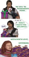 Keri and Raynor Xmas by Zaebrael