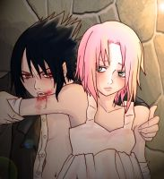 feed me ...sasusaku by Fey-Rayen