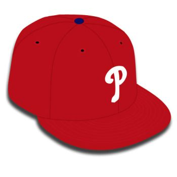 Vectored phillies hat by youngcheezy7