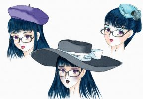 hats by JessicaRaven