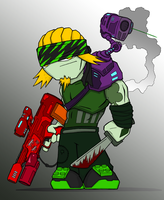 Ty-Larz: Vegetable Hunter by jagged-snail