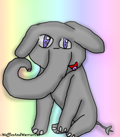 Elephant For Skribble! XD by M-e-l-o-d-y-The-Cat