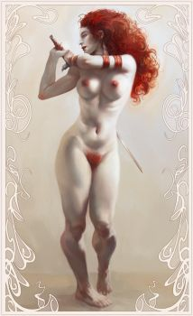 Red Sonja by Artlacal