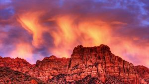 Fiery Mountain by ernieleo
