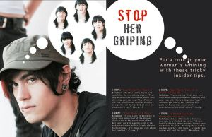 Stop Her Griping by daniellemasucci