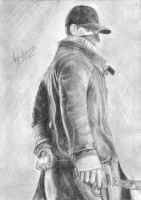 Aiden Pearce by NarineFox