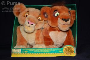 Kiara and Kovu talking Plush by dapumakat