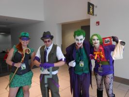 Riddlers and Jokers by Etrigan423