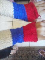 Russia Flag Gloves 2 by ValentineRevenge