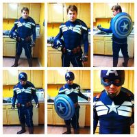 CAPTAIN AMERICA 2 COSTUME COMPLETED! by Cadmus130