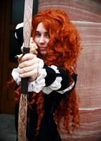 Brave - Merida by theYellowPost-it