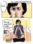 BBC Sherlock - Annoying Roommate by koenta