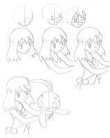 How to Draw May part 1 by EternASH
