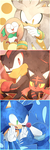 New Starters Pokemon x Sonic the Hedgehog by Baitong9194