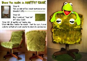 Muppet Kermit The Frog Chair by nadjadee