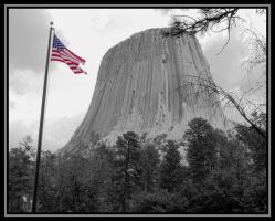 Devil's Tower 1 by Curim