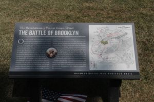 Site of Revolutionary War Battle of Brooklyn by jswis