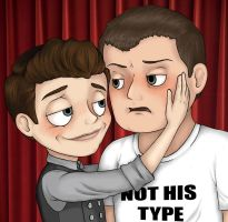 Not His Type by Pontchartrain-Zombie