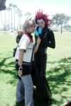 roxas and axel by maggifan
