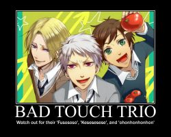 :+ Bad Touch Trio +: by DeiAndItasGirl