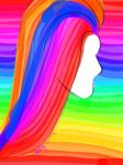 Rainbow Hair by Prom15e13elieve10ve