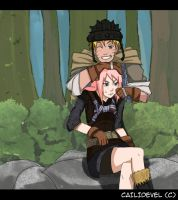 Narusaku Fantasy Au- Hey there by CaiLiDeVeL