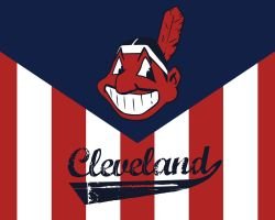 Cleveland Indians Wallpaper by ElessarJD
