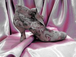 Old Fashioned Shoe by ThreeRingCinema