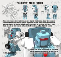 Action Formers - Explorer Armor Set by wulongti