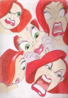 Expressions of Jessica Rabbit by Nightshade-Phantom