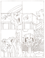 Fuzzy Hearts 2 Pencils (old) by FritzyBeat