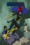 Batgirl vs Thugs - color by mhunt