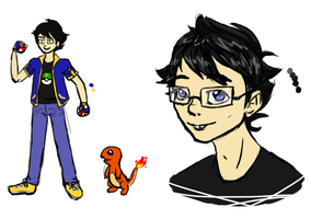 Pokemon Trainer John by Dragonastra