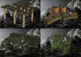 Dragon Age Inquisition - Garden Items part1 by Mageflower