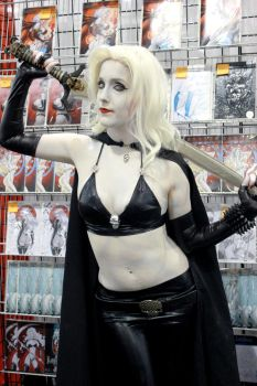 Lady Death with Sword by LadyLestat88
