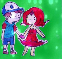 FP and Dipper by Deryka